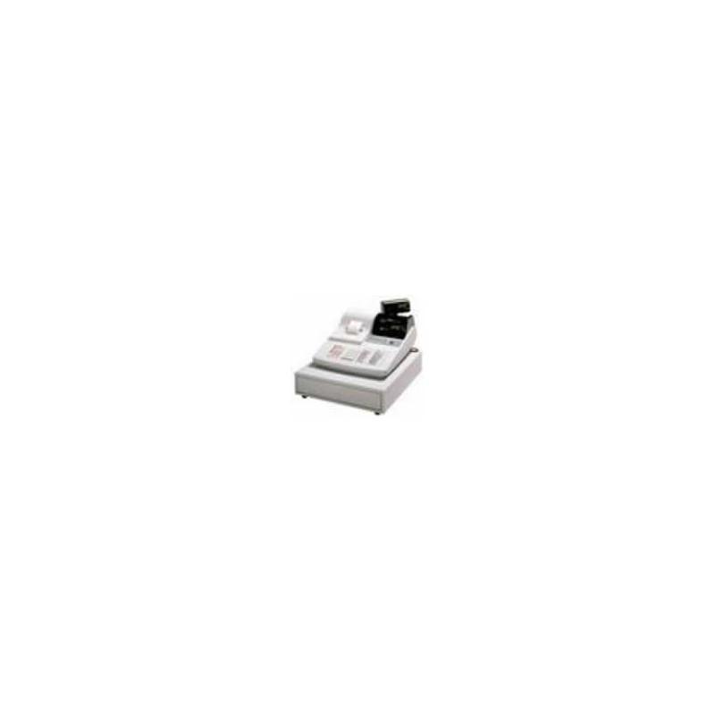 Casio CR-240 - Doos 50 non-thermische papierrollen - wit/geel - DB4 - 57*70*12