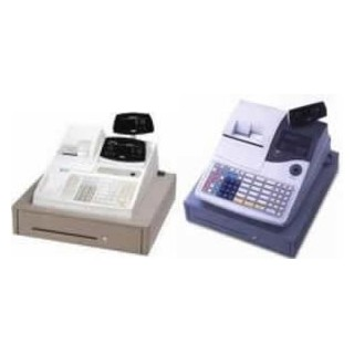Tec MA516/MA1530 - Doos 50 non-thermische papierrollen - wit/geel - DB3 - 44*70*12
