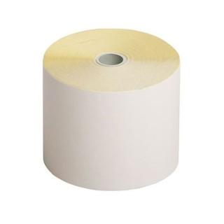 Citizen IDP3541/3551 - Doos 50 non-thermische papierrollen - wit/geel - DB1 - 76*70*12