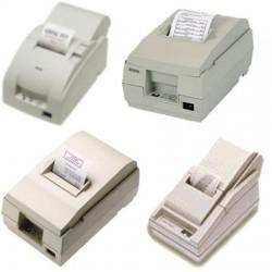 Papierrollen wit/geel 76x80x12 Epson TM200/210/300 - DB2