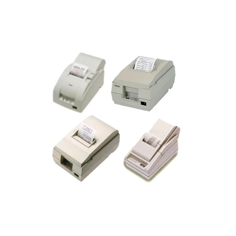 Papierrollen wit/geel 76x70x12 Epson TM200/210/300 - DB1