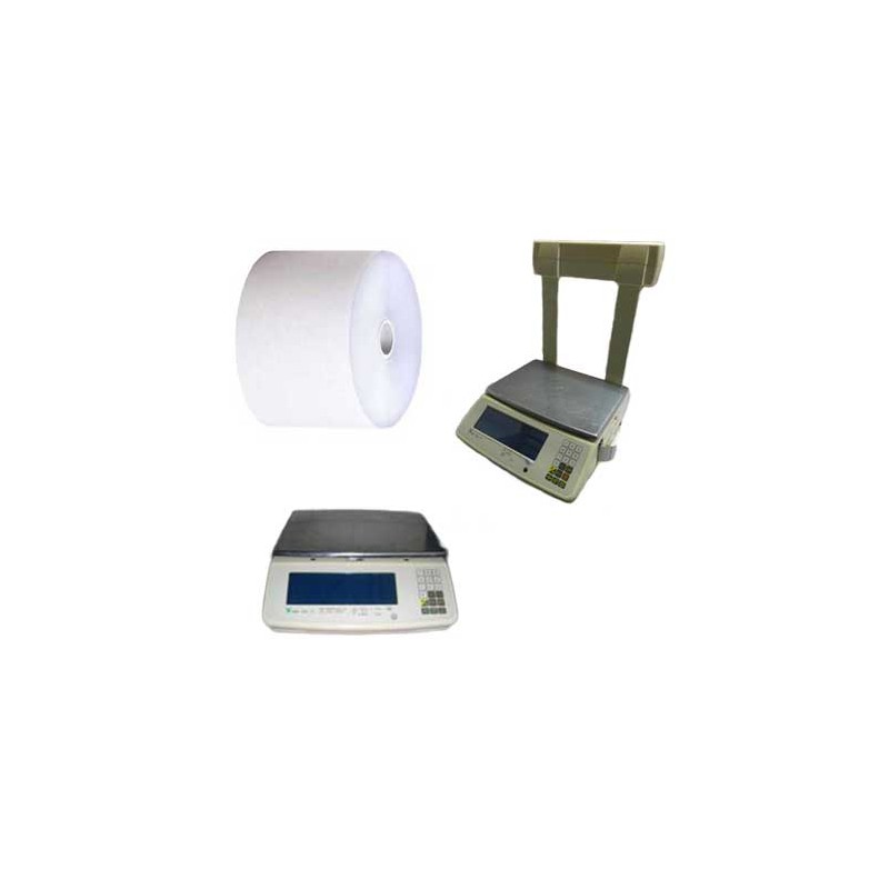 Rouleaux 60x70x12 - 62 m Balances Digi SM-70 - TH10