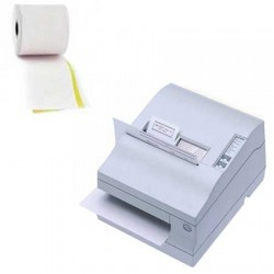 Papierrollen wit/geel - 70x70x12 Epson TM-U950 - DB5