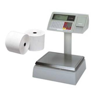 Papierrollen 60x60x12 - 41 m Weegschalen Dibal - Avery Berkel 410 - TH9