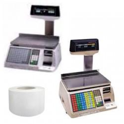 50 Rouleaux papier 50x74x40 - 50 m Balances Tec SL-9000 - TH16