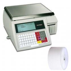50 Rouleaux papier 60x70x12 - 62 m Balances Avery Berkel M210 - TH10