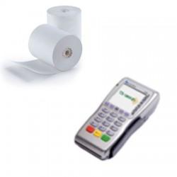 Thermische papierrollen  57x38x12 - 17 m CCV GPRS, INGENICO, KEWWARE, BEPAX, LOYALTEK  TH2