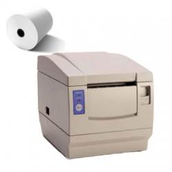 50 Rouleaux papier 80x80x12 - 75 m Imprimantes Citizen CBM-1000 80 - TH13