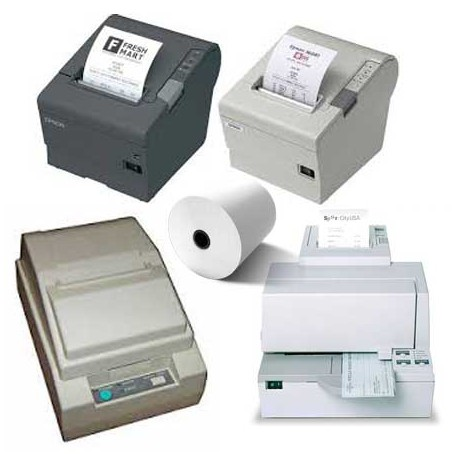 Papierrollen 80x80x12 - 75 m Printers Epson TM-T80/T88/H5000 -  TH13