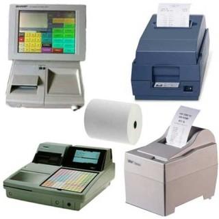 Papierrollen 76x65x12 - 50 m Printers Sharp Epson Uniwell Star - TH15