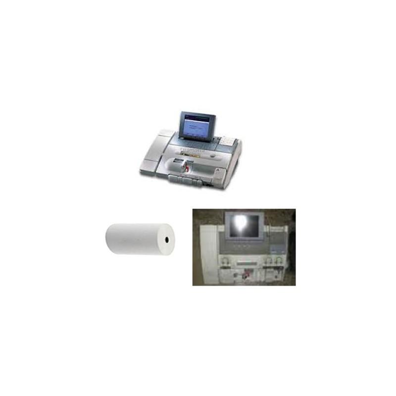 Papierrollen 112x47x12 - 25 m Printers Rapid Lab 865 -  TH12