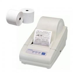 50 Rouleaux papier 60x70x12 - 62 m Imprimantes Citizen CBM-270 - TH10