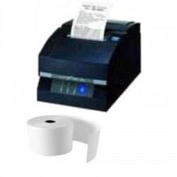 Papierrollen wit 76x80x12 Citizen S550 - NTH2