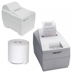 Papierrollen wit 76x80x12 Star SP200/SP2000 - NTH2