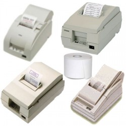 Papierrollen wit 76x80x12 Epson TM200/210/300 - NTH2