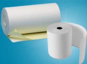 Rouleaux papier NON thermique pour caisses enregistreuses et imprimantes